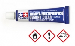 Tamiya Multipurpose Cement clar 20 gr