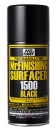 Surfacer 1500 black, Spray, 170 ml.