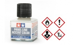 Tamiya, Panel Line Accent Color grau