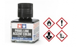 Tamiya, Panel Line Accent Color schwarz