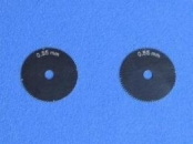 Riveting Tool extra wheels 0,55 + 0,65mm for 05-211