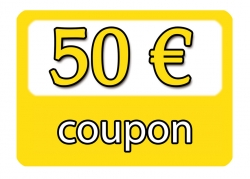 Gift Coupon for  50,00 €