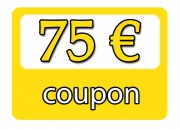 Gift Coupon for  75,00 €