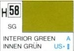 Hobby-Color Farbe Interior green, halb matt