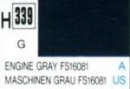 Hobby-Color angine grey FS 16081, semi-gloss