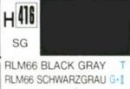 Hobby-Color blackgray RLM 66, semi-gloss