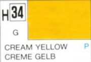 Hobby-Color Farbe Creme Gelb, glanz