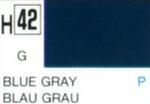 Gunze colour blue gray, gloss
