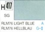 Gunze colour light blue RLM 76, semi-gloss