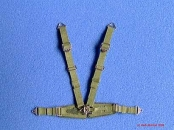German seatbelts, green, WW II late, 1/32